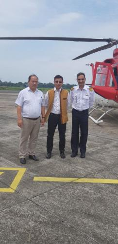 At Dibrugarh airport on 04/05/2018